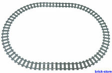 LEGO® Eisenbahn Schienenkreis  16x gebogne / 4 x gerade Schienen (60051,60052)