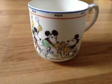 Royal Paragon W. Disney Mickey Mouse Cup Lets be as happy as we can all day long
