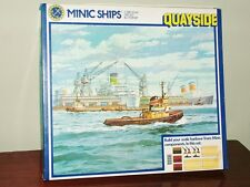 Triang Minic Ships M905 Quayside Set - Still sealed