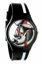 Flud Black Disney Mickey Mouse Face Prologue Sketch II Watch