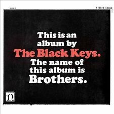THE BLACK KEYS Brothers CD Digipak With Insert NONESUCH