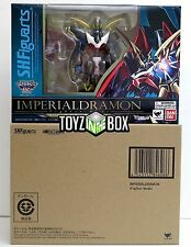 "In STOCK Bandai Digimon Figuarts ""Imperialdramon"" Action Figure Bandai Tamashii"