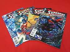 SUPERMAN UNCHAINED SET #1-4 NEW 52 SCOTT SNYDER JIM LEE