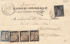 Lettre France Timbre Taxe + Sage Le Mont-ST-Michel Manche Cover Brief
