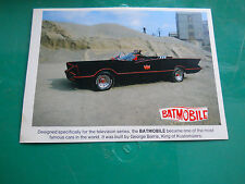 BATMOBILE GEORGE BARRIS vintage PROMOTIONAL  jalopy CAR show motorama barn find