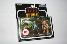 2010 Star Wars Vintage Collection ROTJ Ewok Scouts Two Pack