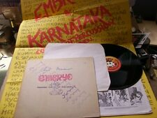 EMBRYO&KCP&CHARLIE MARIANO,LIFE lp m-/vg+ GIANT-POSTER /m- 8Seiten Beiblatt/vg+