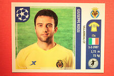PANINI CHAMPIONS LEAGUE 2011/12 N 37 ROSSI VILLARREAL WITH BLACK BACK MINT!!
