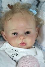 Reborn Baby Doll Raven Ping Lau neu new 10 Years Reborning*Sweet Lockenkopf***``