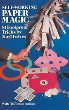 Self-Working Paper Magic: 81 Foolproof Tricks (Dover Magic Books)-ExLibrary