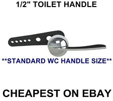 TOILET HANDLE VIVA STANDARD WC FLUSH LEVER for TOILET CISTERN SYPHON 1/2""