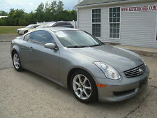 Infiniti: G35 Coupe Navigation Salvage Rebuildable Repairable