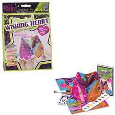 Wish Craft Magical Wishing Heart. Fortune telling fun with a magical twist.