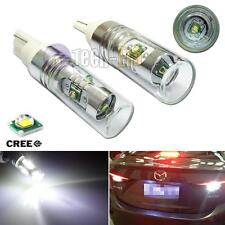 2pcs HID White 20W CREE T10 T15 LED Bulbs For Car Backup Reverse Lights 920 921