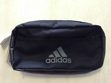 ADIDAS BUM BAG FANNY WAIST PACK BUMBAG TRAVEL BLACK NIGHTCLUB EVENING RAVE SMALL