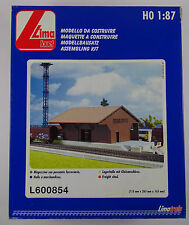 Lima Jouef L600854 Lagerhalle Modellbausatz Freight Shed neu OVP