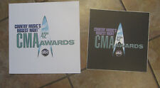 CMA Awards Signs - 42th Annual CMA Awards - Original Signs from the Venue