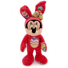 MINNIE MOUSE EASTER EGG BUNNY PLUSH GENUINE ORIGINAL DISNEY STORE PATCH ON REAR