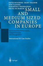Small and Medium Sized Companies in Europe : Environmental Performance,...