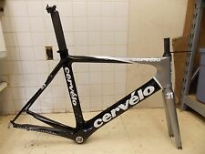 58cm Cervelo S3 Carbon Fiber Road Frame & 3T Funda Team Full Carbon Fork