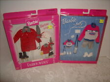 2 Barbie and Kelly Outfit Sets NEW SEALED Happy Hiking and Rain Gear