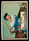 1952 Topps Baseball #52 Don Mueller Black Back Ex c04284