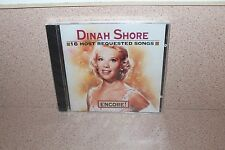 Dinah Shore 16 Most Requested Songs Encore! NEW SEALE CD