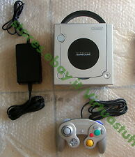 GameCube, Nintendo, console, Silver, NTSC, JAP, GCN, DOL-001, good c,works fully