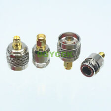 4pcs/set Adapter N~RPSMA female F male M Kit connector for Communication