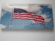 Collector License Plate (new) GOD BLESS AMERICA (LP-140)