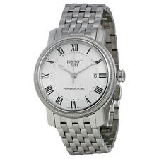 Tissot Mens T-Classic Bridgeport Powermatic Automatic Swiss Watch T0974071103300
