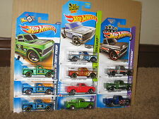 Hot Wheels Nice Lot of 10 Custom 69 Chevy Pickup Variation 1969 Redline Zamac