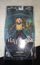 "DC Comics Batman Arkham City Series 3 7"" Clown Thug A with Bat Action Figure"