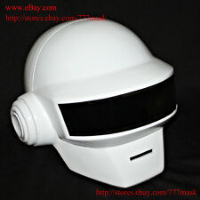 1:1 Custom Halloween Costume Mask Thomas Bangalter Daft Punk Helmet -white MA176
