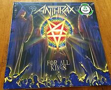 ANTHRAX For All Kings - 2 Silver Vinyl in Gatefold -Strictly Limited Edition -LP