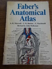 Faber's Anatomical Atlas for Nurses and Students by A.K. Maxwell, etc....