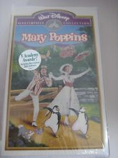 VHS Mary Poppins New/Sealed Disney Masterpiece Collection