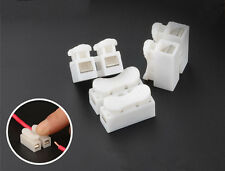 20PCS CH-2 Quick Connector cable clamp Terminal Block Spring Connector Wire LED