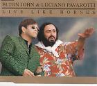 MAXI CD SINGLES 4T ELTON JOHN & LUCIANO PAVAROTTI LIVE LIKE HORSES DE 1996