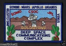 GOLDSTONE DEEP SPACE COMMUNICATIONS COMPLEX NASA USAF SATELLITE TRACKING PATCH