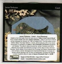 (DB605) James Yorkston, Catch - 2012 DJ CD