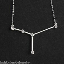 Cancer Constellation Necklace - 925 Sterling Silver - Stars Horoscope Zodiac NEW