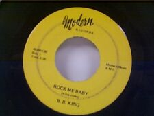 "B B KING ""ROCK ME BABY / I CAN'T LOSE"" 45"