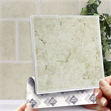 8 Classique Stick & Go Stick On Wall Tiles For Bathrooms or Kitchens