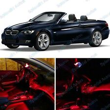 Red Interior LED Package For BMW 3 Series Coupe E93  2007-2011 (7 Pieces) #472