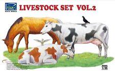 Riich Models 35015 1/35 Livestock Set Vol.2