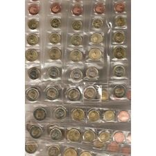 España Spain Colección Colection Tiras € euro 1999 al 2013 completa