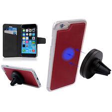 360° Handy Halterung Autohalter Magnet Lüftungsgitter Handytasche für iPhone 6