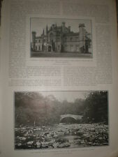 Photo article Lowther Castle 1902 ref Z