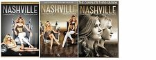 Nashville Complete All Seasons 1-3 DVD Set TV Show Series Collection Episode Lot